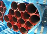 Труба бой пожара конца паза ERW красная покрашенная стальная