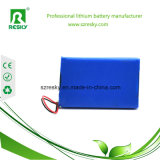 3.7V 6000mAh Lithium-Plastik-nachladbare Batterie 906390