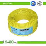 Câble de fil de cuivre de Thw Bvr/BV 8AWG 10AWG 12AWG 14AWG
