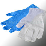 Arbeit Glove /Clear Exam Vinyl Glove Powdered und Powder Free