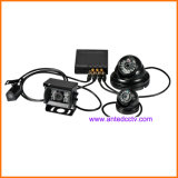 차량 또는 버스 또는 차 또는 트럭 CCTV를 위한 3G/4G/GPS/WiFi 4CH SD 카드 이동할 수 있는 DVR 시스템