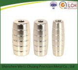 De aangepaste CNC Draaiende Delen van de Machine van de Tatoegering van het Aluminium van de Dienst CNC Machinaal bewerkte CNC Geboorde voor de Machine van de Tatoegering