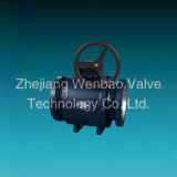 China de fábrica St. 37 completamente soldado válvula de bola Wenzhou Fabricante