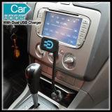 Carregador duplo do suporte da montagem do carro do USB do telemóvel de Smartphone dos acessórios do telefone móvel