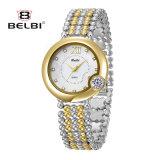 Shell van Word van de Manier van het Horloge van de Dames van het Merk van Belbi het Toevallige Roman Horloge van het Kwarts van de Oppervlakte Waterdichte