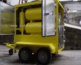 Le double inclus présente le pétrole de transformateur réutilisant la machine