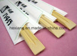 23cm 4.3 - 4.5mm White Bamboo Disposable Bamboo Chopsticks