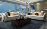Sofa neuf de tissu d'arrivée, meubles à la maison, sofa de modèle simple (M615)