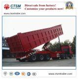 Haltbarer Rear Dumping Van Type Semi-Trailer/Kipper-Schlussteil