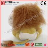 León suave del bebé del animal relleno de los juguetes de ASTM