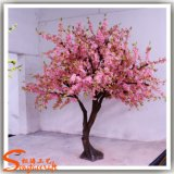 Mini flor de cereza artificial del árbol para la decoración casera
