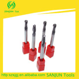 De Snijder van de Molen van het eind, CNC de Toebehoren van Hulpmiddelen, de Molen van het Eind van het Carbide van de Hulpmiddelen van de Snijder van het Malen