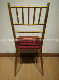 結婚式の固定シート・クッションが付いているアルミニウムChiavariの椅子