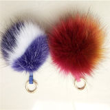 Elegante carro pendurado pendente saco chaveiro China Fake Fur Ball