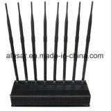 8 Bänder WiFi DCS, PCS, Lte, Wcda, G-/Menergien-justierbarer mobiler Signal-Hemmer