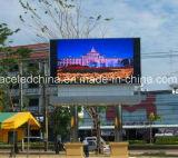 Visualización de Ercan, pantalla al aire libre del vídeo de los media del ahorro de costes del ahorro de energía P10 LED