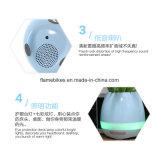 Bluetooth 스피커와 LED 램프를 가진 화분