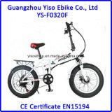 Gros pneu pliant la bicyclette électrique cachée de la bicyclette E de batterie