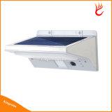 21 LED Solar Powered PIR sensor de movimiento ligero de la pared con 3 Indicador LED de luz para la iluminación al aire libre Jardín