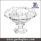 Tazón de fuente de cristal del nuevo diseño con el soporte para el cantón justo