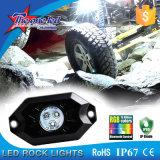 RGB 색깔을%s 가진 보편적인 차 사용 36W 고정되는 LED 바위 빛, Ferrari 차를 위한 차를 위한 Bluetooth 통제 LED 바위 빛
