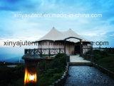 Grandi tende di lusso di approvvigionamento che decorano con i rivestimenti e le tende del tetto