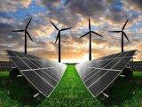 3kw Usage domestique Mini système d'énergie solaire avec moulins à vent