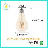 Stoele A19 5W LED 전구 E26/E27 A60 Edison 작풍
