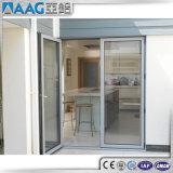 Het Openslaand raam en de Deur van het Aluminium van de dubbele Verglazing