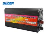 Inverseur de pouvoir de l'inverseur 2000W de système d'alimentation solaire de Suoer avec le chargeur (HAD-2000D)