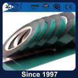 Alta temperatura de la resistencia adhesiva de doble cara cinta verde