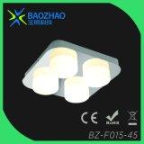 Cromo del laminado, serie entera de la luz del cuarto de baño de SMD LED, Metal+Glass