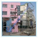 Sistema aprovado seguro do andaime do GV para a construção
