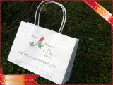 Sac promotionnel de cadeau d'achats d'impression de sac de papier