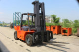 hydraulischer Dieselgabelstapler 6ton mit chinesischem Motor Xichai6110 und 3m-6m der anhebenden Höhe, Vollreifen