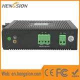 Um Ethernet de 5 megabits e interruptor de rede industrial portuário da fibra