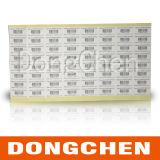 Etiqueta da etiqueta adesiva do animal de estimação da bateria da resistência térmica 2013