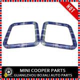 Membre d'un club bleu F54 (2PC/Set) de Mini Cooper de couverture de bordure de mémoire de joncteur réseau de couleur de Speedwell