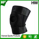 屋外スポーツのネオプレンの膝サポート(HW-KS009)を実行する新しいデザイン