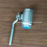 La norme ANSI a modifié le robinet à tournant sphérique de l'extrémité d'amorçage de l'acier inoxydable F316 TNP