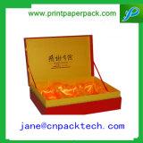 Contenitore di regalo di carta impaccante di qualità superiore della bottiglia di vino/contenitore di monili