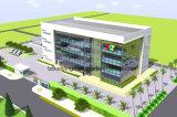 Precio prefabricado del edificio de oficinas de la estructura del metal
