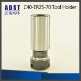 Беседка выдвижения держателя инструмента C40-Er25-70 для машины CNC