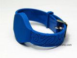 Extensão-Tipo do Wristband do PVC de NXP MIFARE DESFire EV2 2k para seguir adultos/crianças