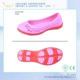 Стильные напольные Holey сандалии, ботинки сандалий женщины ЕВА