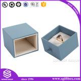 Роскошная Handmade изготовленный на заказ кожаный упаковывая коробка ювелирных изделий