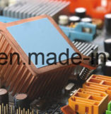 Pista conductora termal 12W del silicón de la alta de la pista pista termal conductora del disipador de calor para el MOS del IC