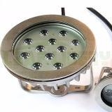 lámpara subacuática al aire libre del sistema de control de 36W DMX 12*3W IP68 LED