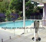 Duplex piscina de 2205 vidrios que cerca la espita de cristal para reunir el cercado