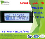 Pannello LCD grafico 240x64, MCU a 8 bit, Ra8822, 22pin, COB FSTN modulo LCD